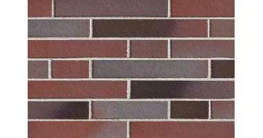 Клинкерная плитка для фасада Blankenesse dunkelbunt Langformat (365x52х10)