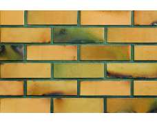 Фасадный клинкерный кирпич St. Petersburg gelb-kohlebrand glatt (240х71x115)