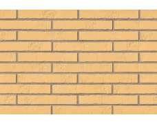 Клинкерная плитка для фасада Gelb Schieferstruktur LF (365х52х10)