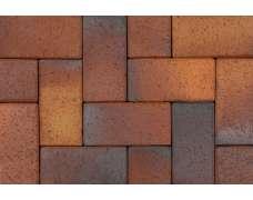 Клинкерная брусчатка Herbstlaub geflamt 0933 (200х100х45)