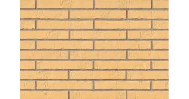 Клинкерная плитка для фасада Gelb Schieferstruktur LF (365х71х10)