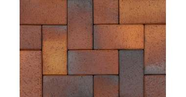 Клинкерная брусчатка Herbstlaub geflamt 0935 (200х100х52)