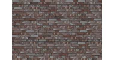 Фасадный клинкерный кирпич Föhr Lava-Kohlebrand glatt (240х71x115)
