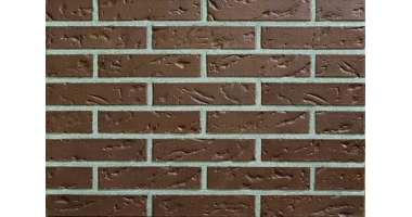 Фасадный клинкерный кирпич Aachen braun baumrinde-genarbt (240х52x115)