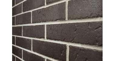 Клинкерная плитка для фасада Schwarz nuanciert rustik (240x71x10)