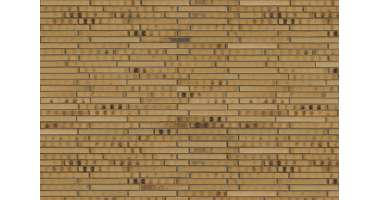 Фасадный клинкерный кирпич Gelb Kohlebrand (8354) glatt (490х52x115)