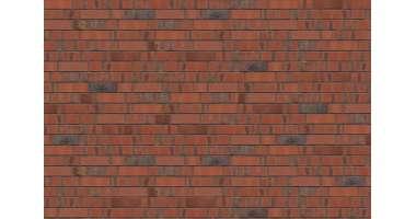 Фасадный клинкерный кирпич Baltrum rot-bunt-schmolz mit Kohlebrand glatt (240х71x115)