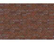 Фасадный клинкерный кирпич Baltrum rot-bunt-schmolz mit Kohlebrand glatt (240х52x115)